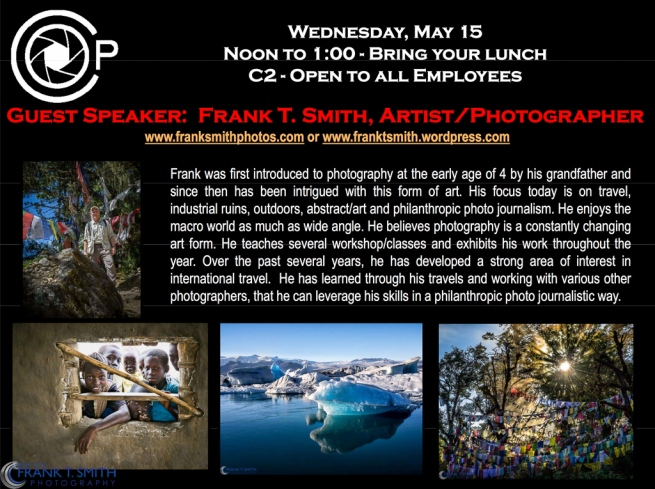 20130523-OPC Meeting and Guest Speaker Frank Smith